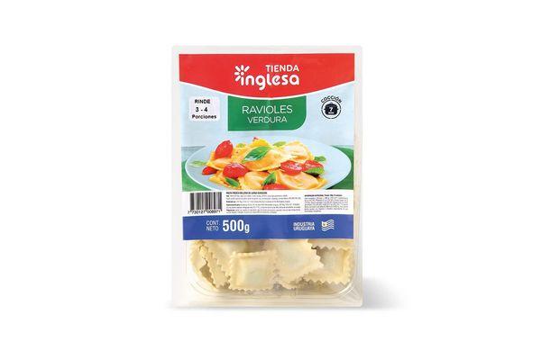 Ravioles de Verdura TIENDA INGLESA 500 gr en Tienda Inglesa