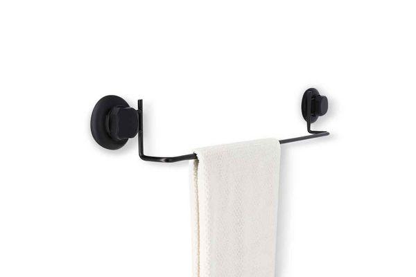 Toallero para Colgar Color Negro de Acero 61 cm en Tienda Inglesa