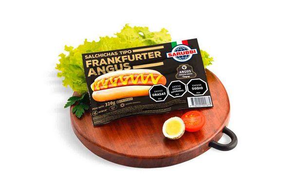 Salchichas Frankfurter Angus Tradicional SARUBBI x 8 en Tienda Inglesa