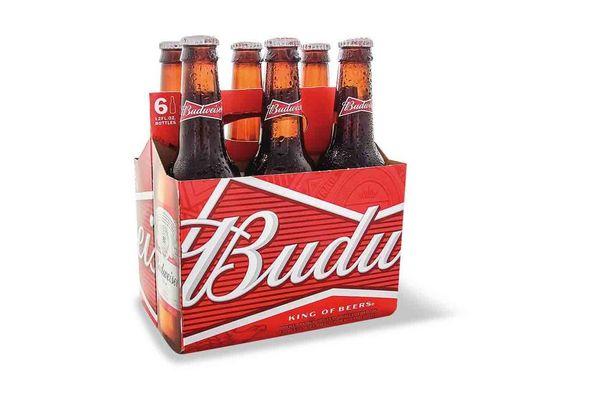 Pack 6 Cervezas en Botella BUDWEISER 355 ml en Tienda Inglesa