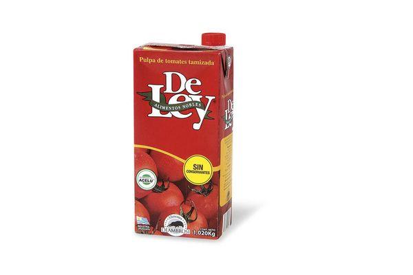 Pulpa de Tomate DE LEY Tamizada 1.020 Kg en Tienda Inglesa