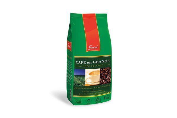 Café Tostado en Grano SENIOR 1 Kg en Tienda Inglesa