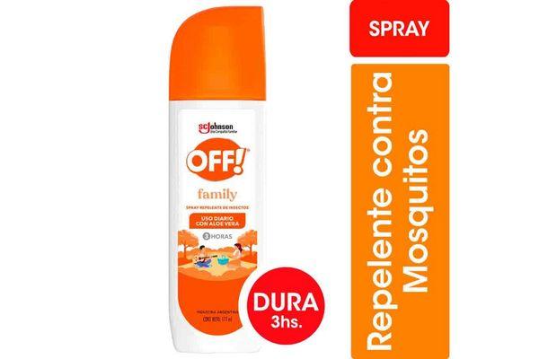 Repelente OFF Spray 200cc en Tienda Inglesa