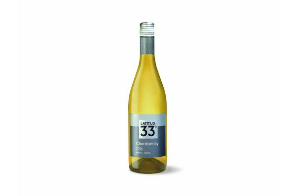 Vino Blanco LATITUD 33 Chardonnay 750ml en Tienda Inglesa
