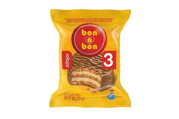 Alfajor Triple BON O BON 60 gr en Tienda Inglesa