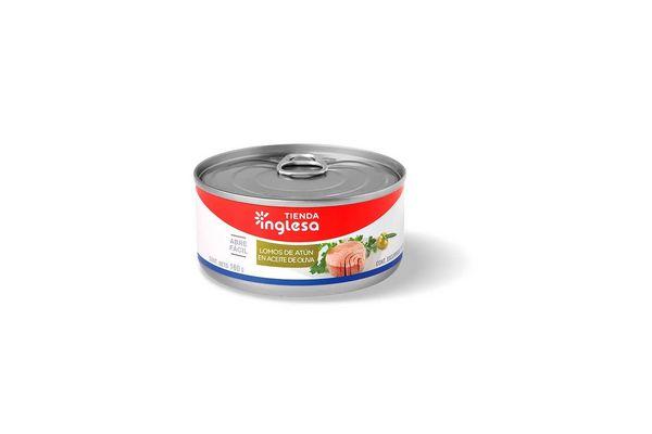 Lomos de Atún en Aceite de Oliva TIENDA INGLESA 160 gr en Tienda Inglesa