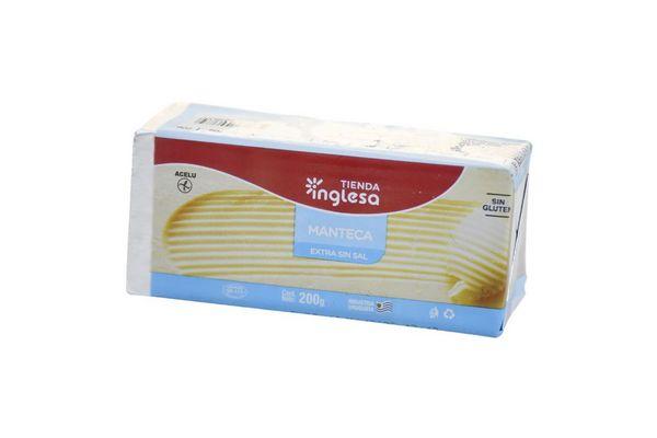 Manteca Extra sin Sal TIENDA INGLESA 200 gr en Tienda Inglesa
