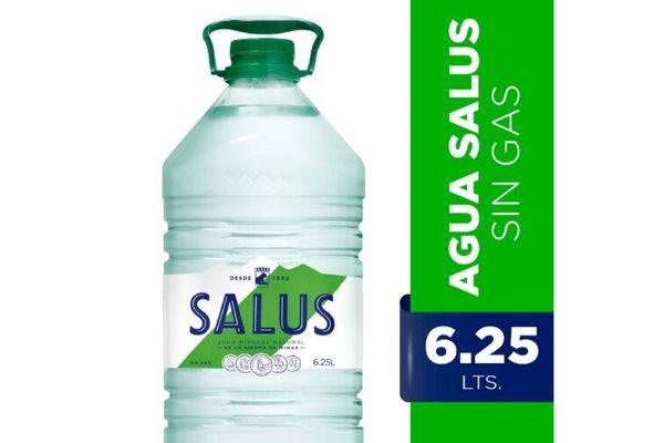Agua Mineral Natural sin Gas SALUS 6.25  L en Tienda Inglesa