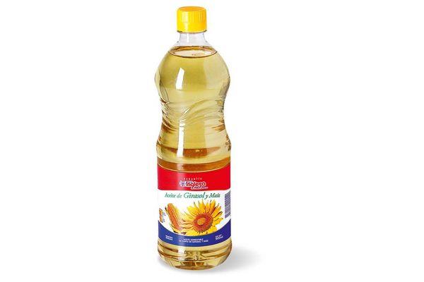 Aceite TIENDA INGLESA de Girasol y Maíz 900cc en Tienda Inglesa