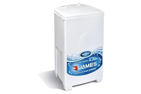 Lavarropa JAMES Carga Superior con Tambor de Acero Inoxidable 5.5 Kg sin Centrifugado en Tienda Inglesa