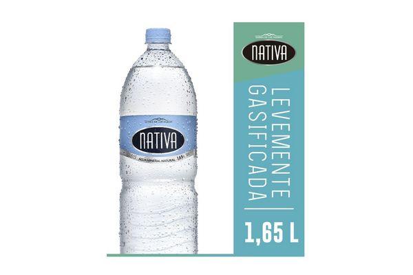 Agua Mineral Natural Levemente Gasificada NATIVA 1.65 L en Tienda Inglesa