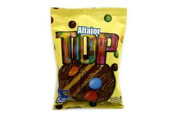Alfajor Top de Chocolate PUNTA BALLENA 40g en Tienda Inglesa