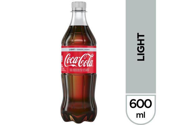 Refresco COCA-COLA Light Sabor Liviano 600 ml en Tienda Inglesa