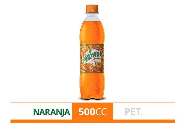 Refresco MIRINDA Naranja 500 ml en Tienda Inglesa