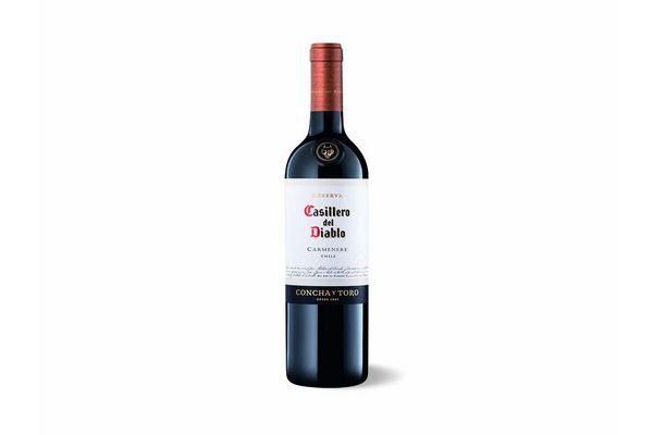 Vino Tinto CASILLERO DEL DIABLO Carmenere 750 ml en Tienda Inglesa