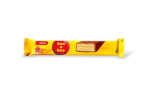 Oblea Bañada en Chocolate BON O BON  30 gr en Tienda Inglesa