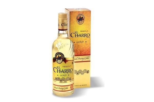 Tequila EL CHARRO Gold 750 ml en Tienda Inglesa