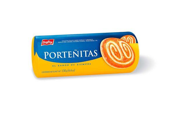 Galleta BAGLEY Porteñitas 130g en Tienda Inglesa