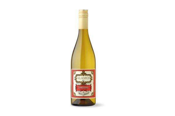 Vino Blanco ALAMOS Chardonnay 750ml en Tienda Inglesa