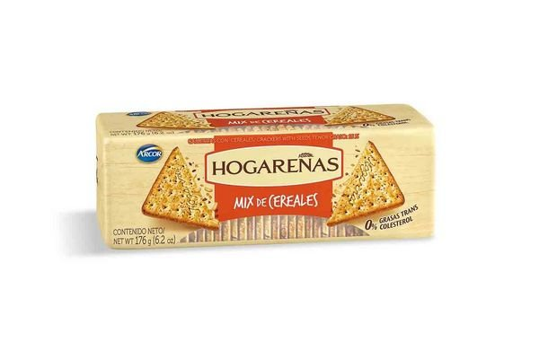 Galletas HOGAREÑAS Mix de Cereales 176 gr en Tienda Inglesa