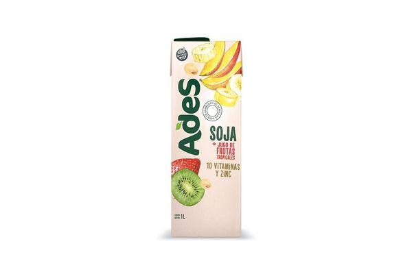Jugo ADES Sabor Frutas Tropicales 1 L en Tienda Inglesa