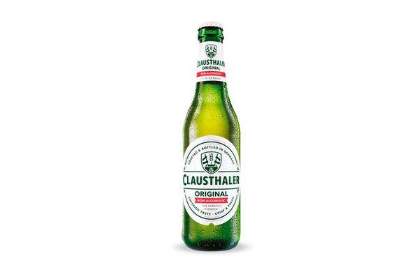 Cerveza Classic sin Alcohol CLAUSTHALER 330 ml en Tienda Inglesa