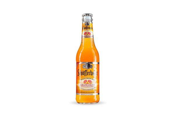Cerveza SCHOFFERHOFER con Pomelo en Botella 330 ml en Tienda Inglesa