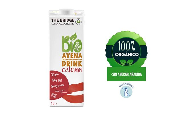 Bebida THE BRIDGE Bio Drink de Avena + Calcio 1 L en Tienda Inglesa