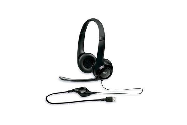 Auricular con micrófono PC LOGITECH Usb h390 en Tienda Inglesa