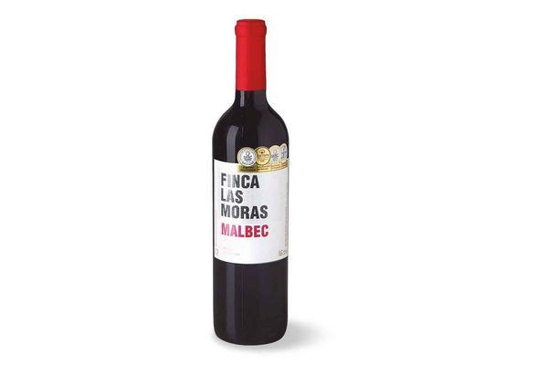 Vino Tinto Finca LAS MORAS Malbec 750cc en Tienda Inglesa