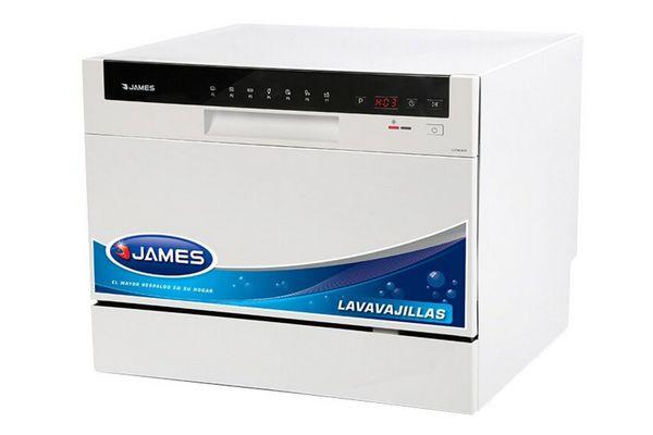 Lavavajillas JAMES Blanco 6 Cubiertos ¡Envío Gratis! en Tienda Inglesa