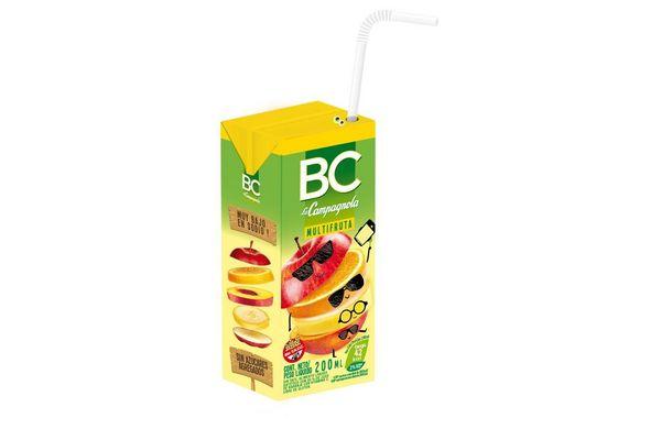 Jugo Multifrutal  BC La Campagnola 200 ml en Tienda Inglesa