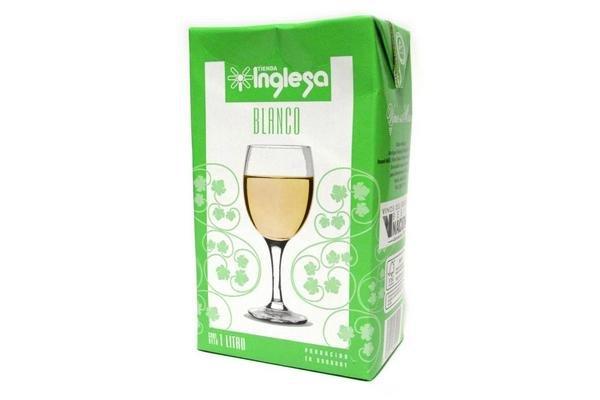 Vino Blanco TIENDA INGLESA Tetra 1 L en Tienda Inglesa