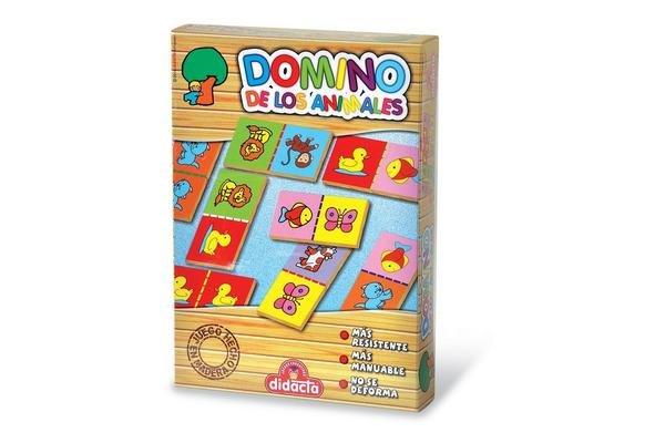 Juego en Caja Domino Animales DIDACTA en Tienda Inglesa