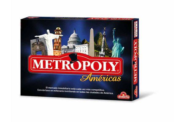 Juego en Caja Metropoly Américas DIDACTA en Tienda Inglesa