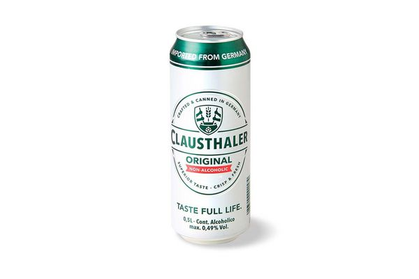 Cerveza Original sin Alcohol CLAUSTHALER 500 cc en Tienda Inglesa