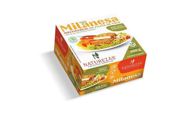 Milanesas Multicereal NATUREZAS de Tofu sin Sal 6 unidades en Tienda Inglesa