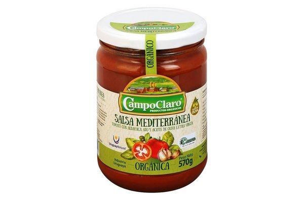 Salsa de Tomate CAMPOCLARO Orgánica Mediterráneo 570g en Tienda Inglesa