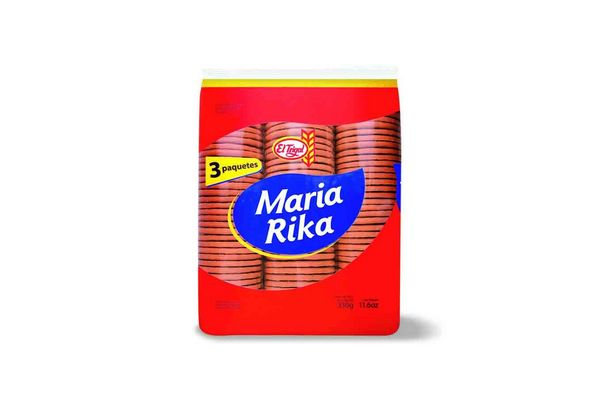 Galleta EL TRIGAL Maria Rika Tripack 300g en Tienda Inglesa