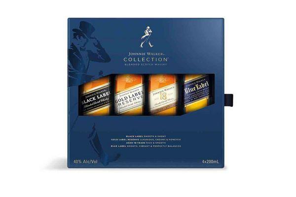 Whisky JOHNNIE WALKER The Collection 200 ml Pack con 4 Unidades en Tienda Inglesa