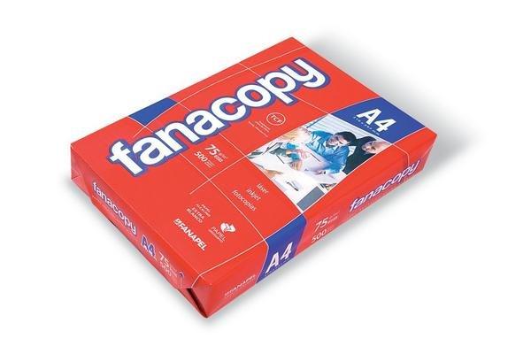 Resma de Papel para Impresora FANACOPY A4 75 gr en Tienda Inglesa