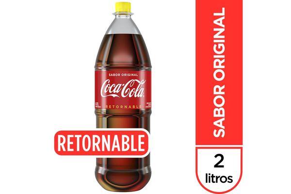 Refresco COCA-COLA Sabor Original Retornable 2 L en Tienda Inglesa
