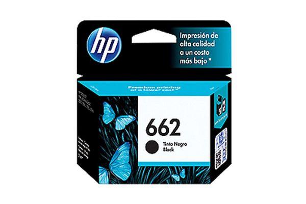 Cartucho HP 662 Color Negro 2 ml en Tienda Inglesa