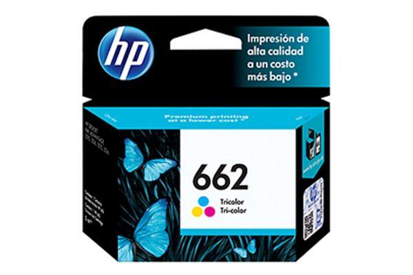 Cartucho HP 662 Tricolor 2 ml en Tienda Inglesa