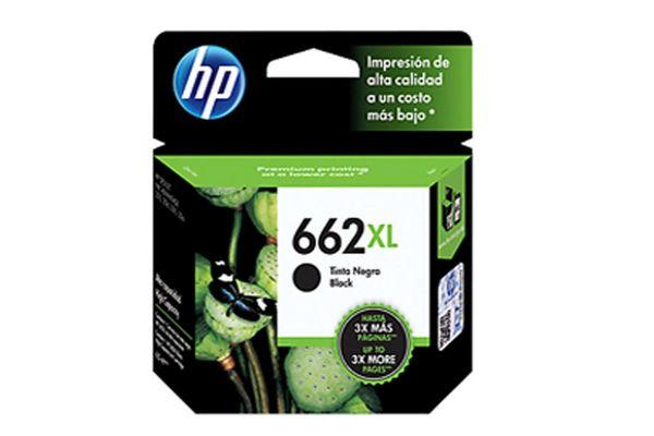 Cartucho HP  662 Xl Color Negro 6.5 ml en Tienda Inglesa