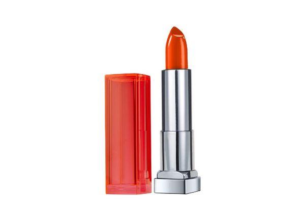 Labial MAYBELLINE Color Sensational Vivids 880 Electric Orange x 4.2g en Tienda Inglesa