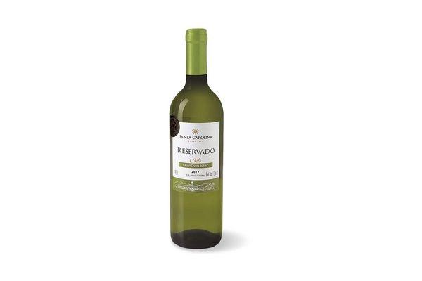 Vino Blanco SANTA CAROLINA Sauvignon Blanc 750 ml en Tienda Inglesa