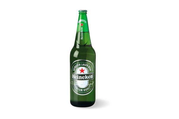 Cerveza HEINEKEN Botella Descartable 1L en Tienda Inglesa