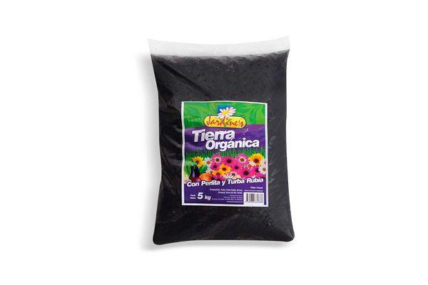 Tierra Orgánica JARDINES con Perlitas y Turba Rubia 5Kg en Tienda Inglesa