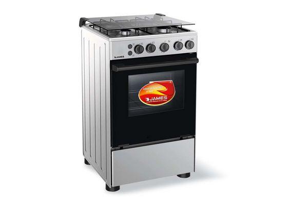 Cocina JAMES de Acero Inoxidable c-510mit Super Oferta ¡Envío Gratis! en Tienda Inglesa